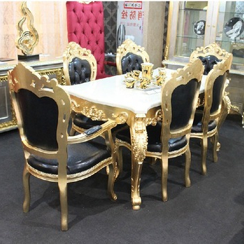 Newest Luxury Home Dining Table Set,modern Dining Table And Chair(b51054 Intended For Modern Dining Table And Chairs (View 6 of 20)