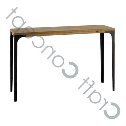 Newest Mango Wood/iron Dining Tables Intended For Mango Wood & Iron Dining Table – Mango Wood & Iron Dining Table (View 10 of 20)
