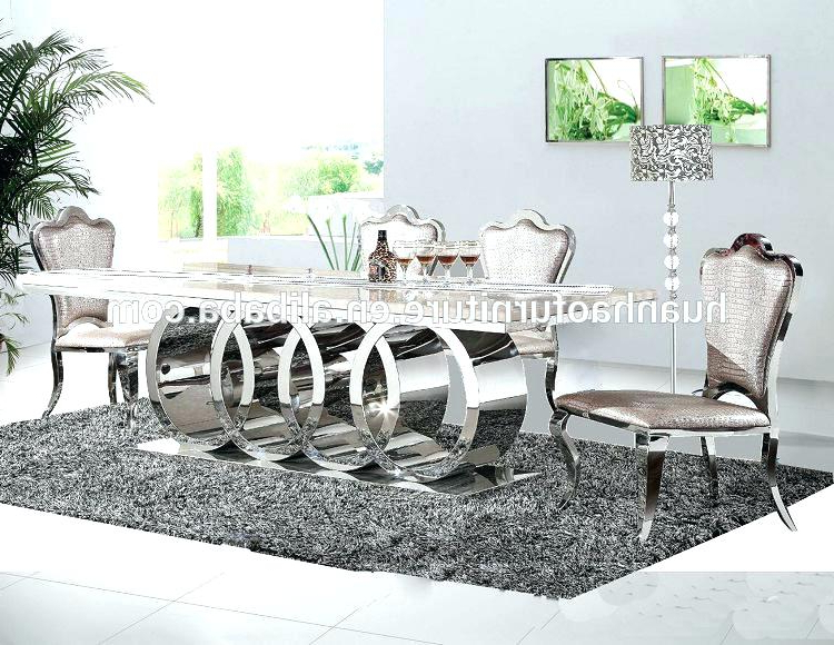 Newest Mirror Dining Table Mirror Dining Table Mirrored Dining Table Pertaining To Mirrored Dining Tables (View 11 of 20)