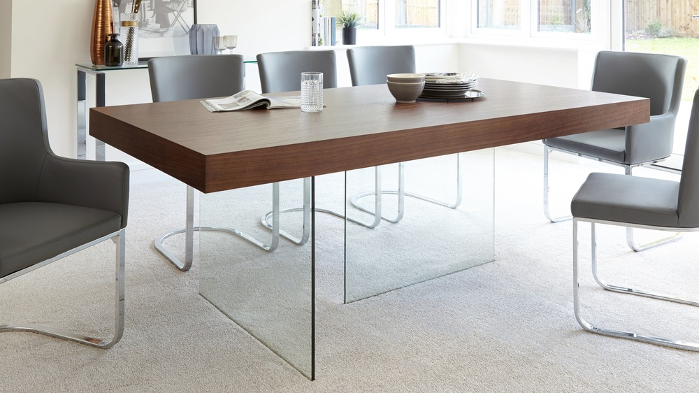 Newest Modern Dark Wood Dining Table (View 16 of 20)