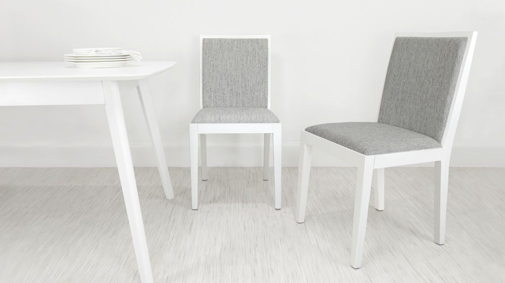 Newest Modern White Oak Wooden Dining Chair (Gallery 1 of 20)
