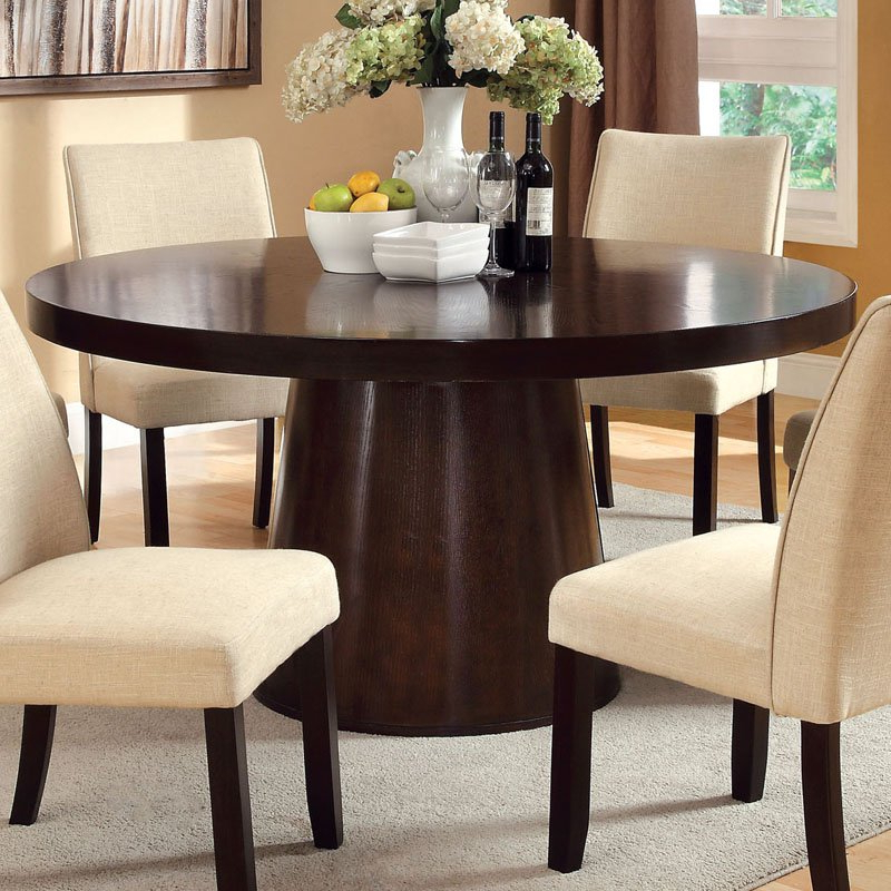 Newest No Space In The Dining Room? Here Are Some Extendable Dining Tables In Round 6 Person Dining Tables (View 7 of 20)