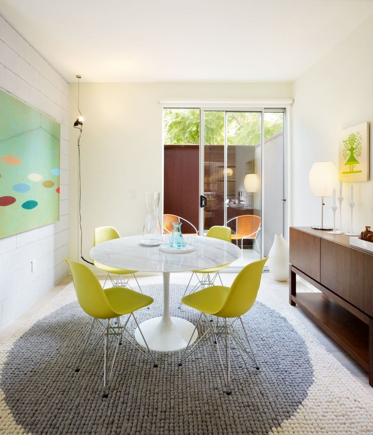 Newest Palazzo 7 Piece Dining Sets With Pearson Grey Side Chairs With 17 Best Tables Tulipes Images On Pinterest (View 18 of 20)