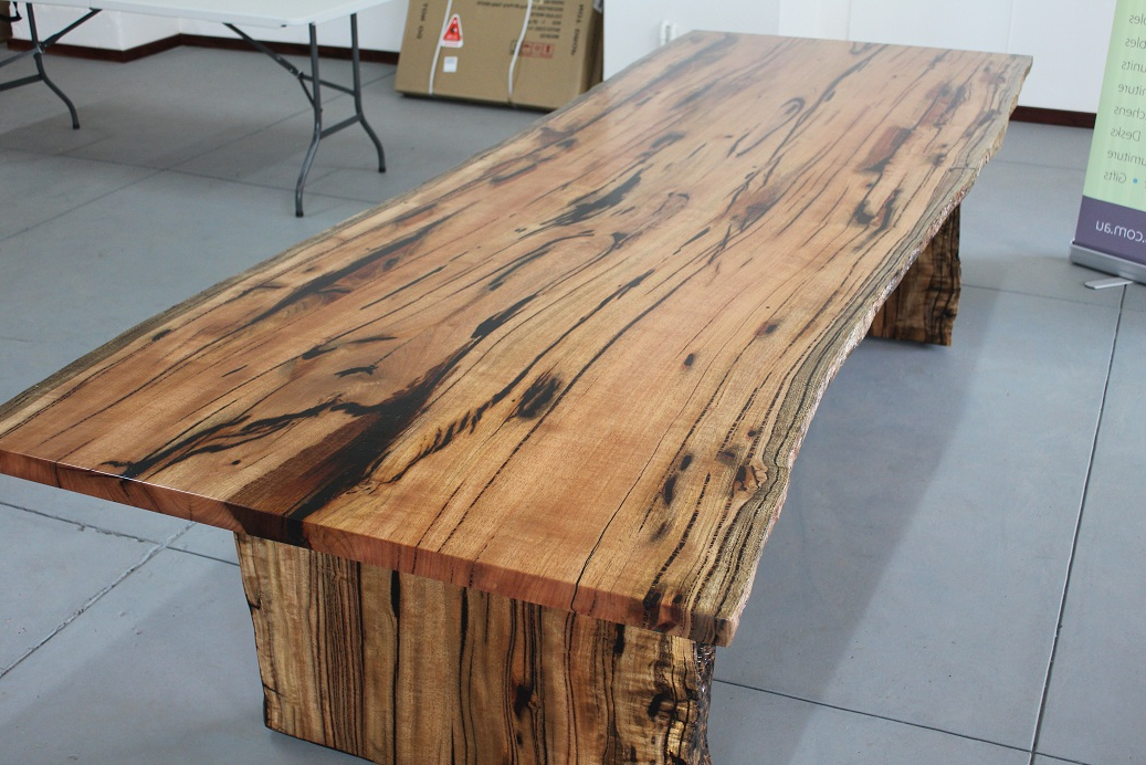 Newest Perth Dining Tables With Marri Slab Dining Table « Arcadian Concepts – Specialising In Solid (Gallery 20 of 20)