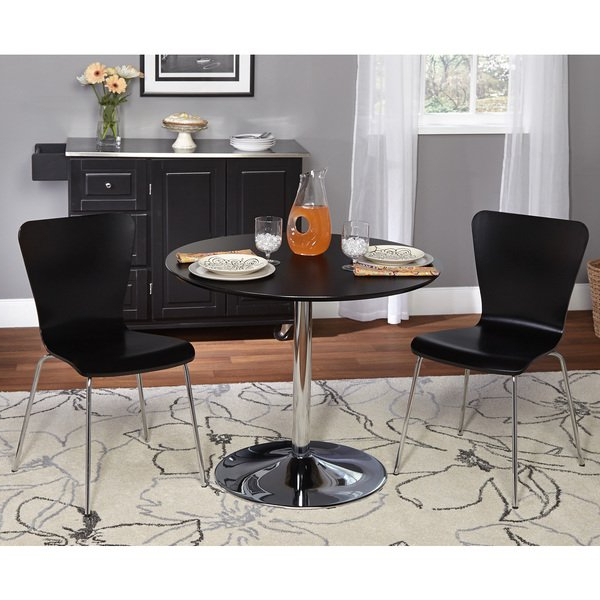 Newest Pisa Dining Tables Pertaining To Shop Simple Living 3 Piece Pisa Dining Set – On Sale – Free Shipping (Gallery 12 of 20)