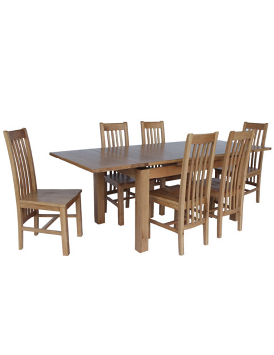 Newest Portland 78 Inch Dining Tables With Regard To Hillsboro Dining Set Of 7 With Portland 2200 Table And 6 Chairs (View 7 of 20)
