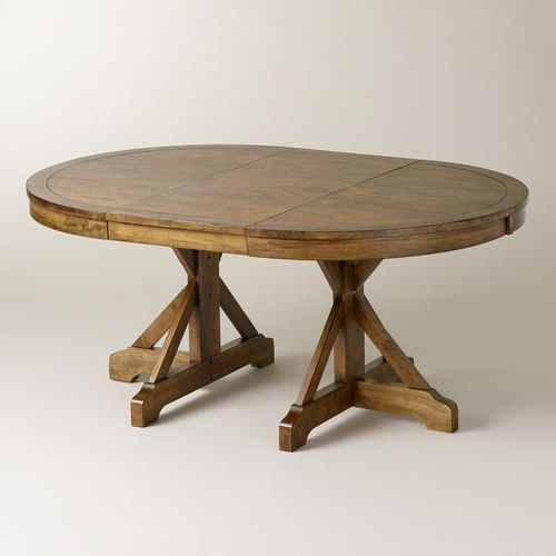 Newest Round Extendable Dining Tables Intended For One Of My Favorite Discoveries At Worldmarket: Round To Oval X (View 10 of 20)