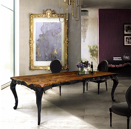 Newest Royal Dining Tables Throughout Royal Dining Table Exclusive Furniture (View 3 of 20)