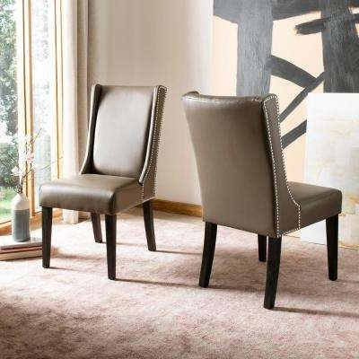 Newest Safavieh – Chairs – Living Room Furniture – The Home Depot With Regard To Clay Side Chairs (View 14 of 20)