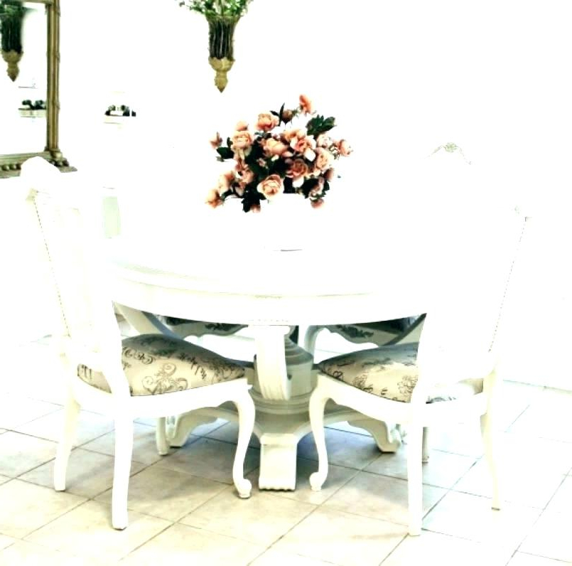 Newest Shabby Chic Dining Table Chairs – Get Home Inteiror & House Design Within Shabby Dining Tables And Chairs (View 9 of 20)