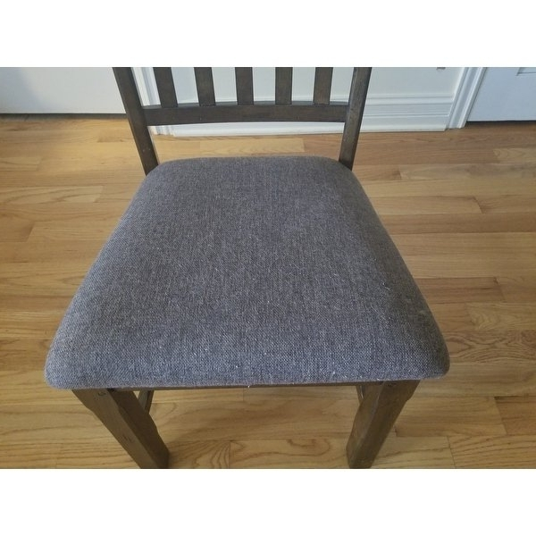 Newest Shop Norwood Rustic Dining Chair (set Of 2) – Free Shipping Today With Regard To Norwood Upholstered Hostess Chairs (View 8 of 20)
