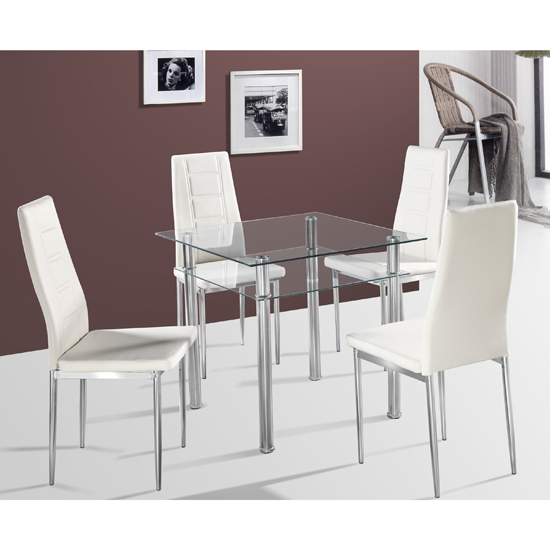 Newest Small 4 Seater Dining Tables Throughout How To Choose Efficient Kitchen Dining Sets For Kitchens (View 12 of 20)