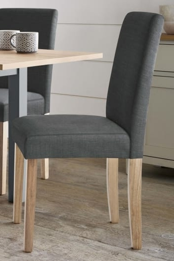 Next Set Of 2 Moda Iii Dining Chairs – Grey – Next At Westquay Throughout Most Popular Moda Grey Side Chairs (View 16 of 20)