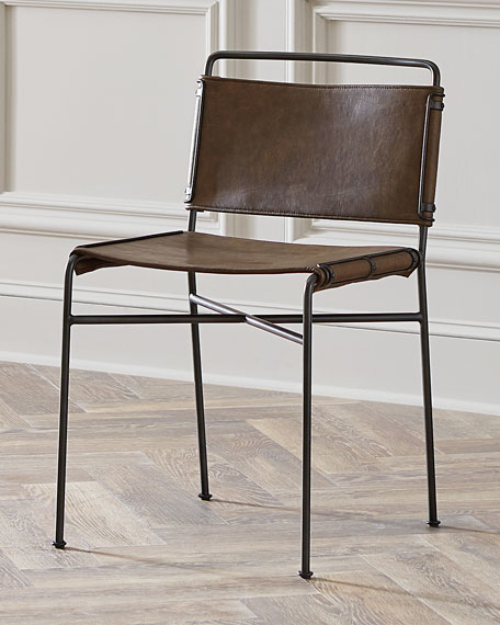 Nicholas Leather Dining Chair In Well Known Leather Dining Chairs (View 15 of 20)