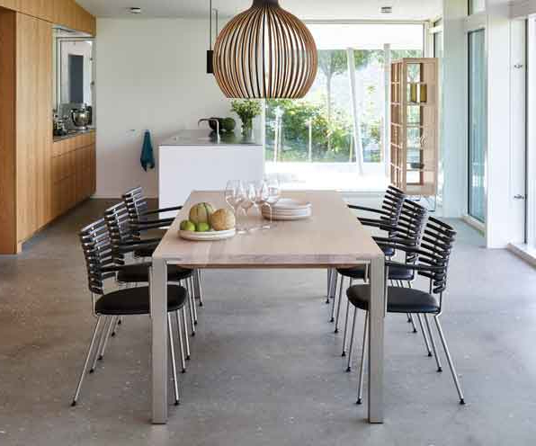 Non Wood Dining Tables (View 10 of 20)