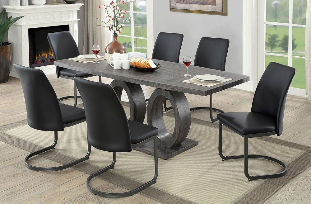 Nora Dining Tables For Famous Nora Modern Style Dining Table Set (Gallery 8 of 20)