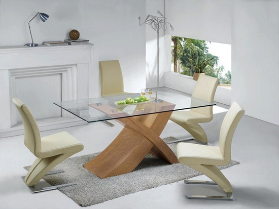 Oak And Glass Dining Tables Pertaining To Most Recent 5 Tips To Help You Buy Dining Table And Chairs – Fif Blog (View 15 of 20)