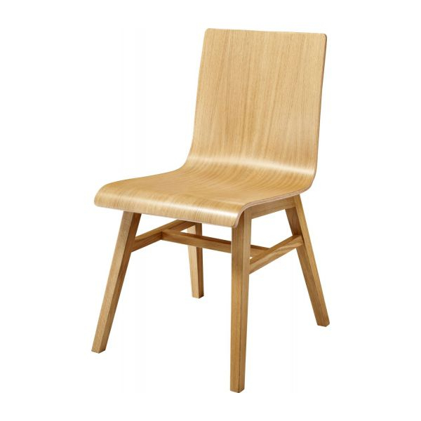 Oak Dining Chairs With Regard To Recent Ply Ii – Solid Oak Dining Chair – Habitat (Gallery 7 of 20)