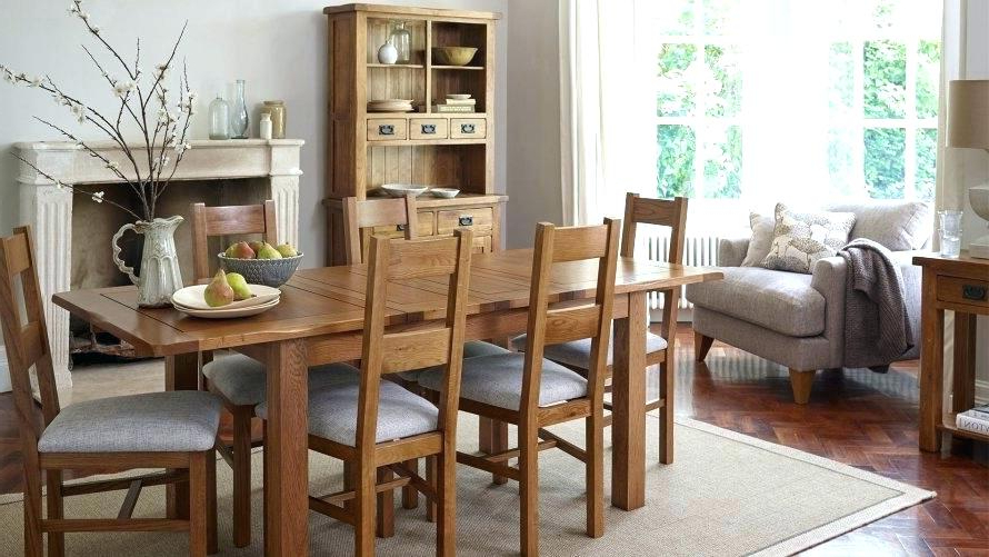 Oak Dining Room Chairs Light Sets Furniture For Goodly Table And Inside Preferred Light Oak Dining Tables And Chairs (Gallery 17 of 20)