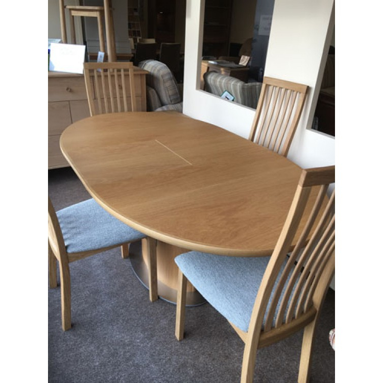 Oak Dining Suite Throughout Most Up To Date Small Oak Dining Table And Chairs (View 14 of 20)