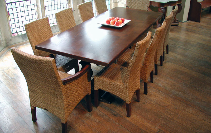 Oak Dining Suites In Most Recently Released Cane Dining Furniture (View 15 of 20)