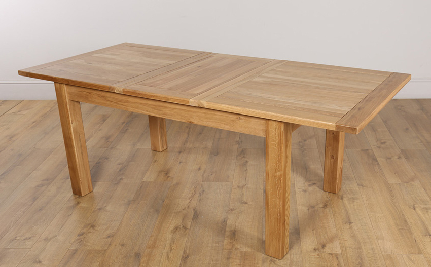 Oak Dining Table: Get The Best One Today – Darbylanefurniture Regarding Well Liked Oak Extending Dining Sets (Gallery 10 of 20)