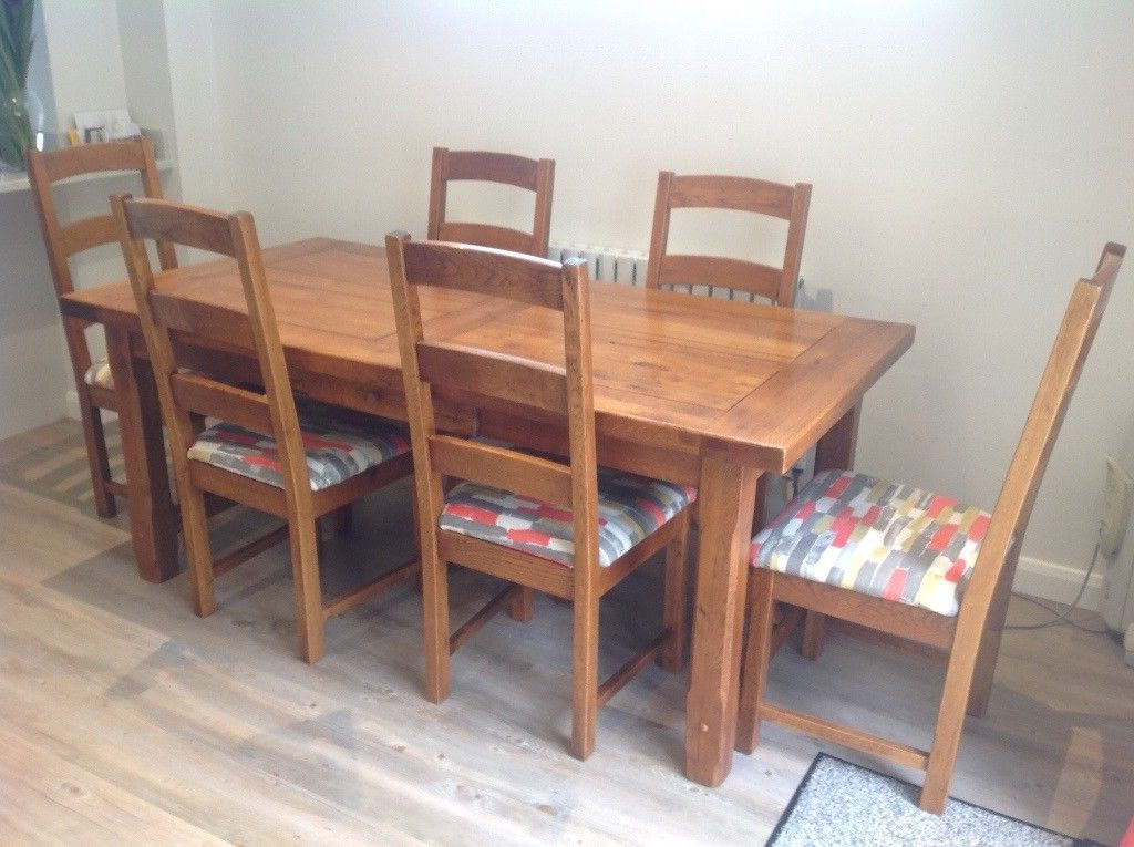 Oak Dining Tables And 8 Chairs Regarding Newest Oak Dining Table +8 Chairs (Gallery 17 of 20)