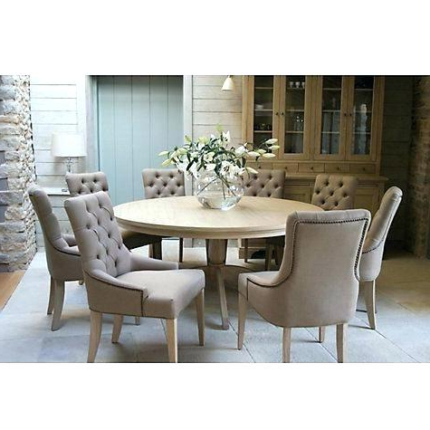 Oak Dining Tables And 8 Chairs With Current Solid Oak Dining Table And 8 Chairs – Opdalingen (Gallery 20 of 20)