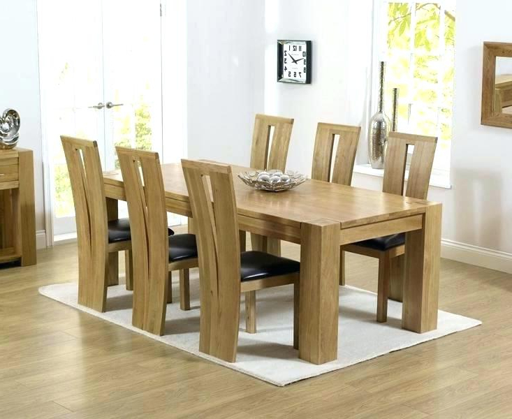 Oak Dining Tables And Chairs With Newest Oak Table Chairs For Sale – Onecos (Gallery 18 of 20)