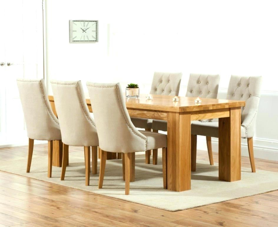 Oak Dining Tables And Fabric Chairs For Preferred Chair Dining Table – Bunu (View 17 of 20)