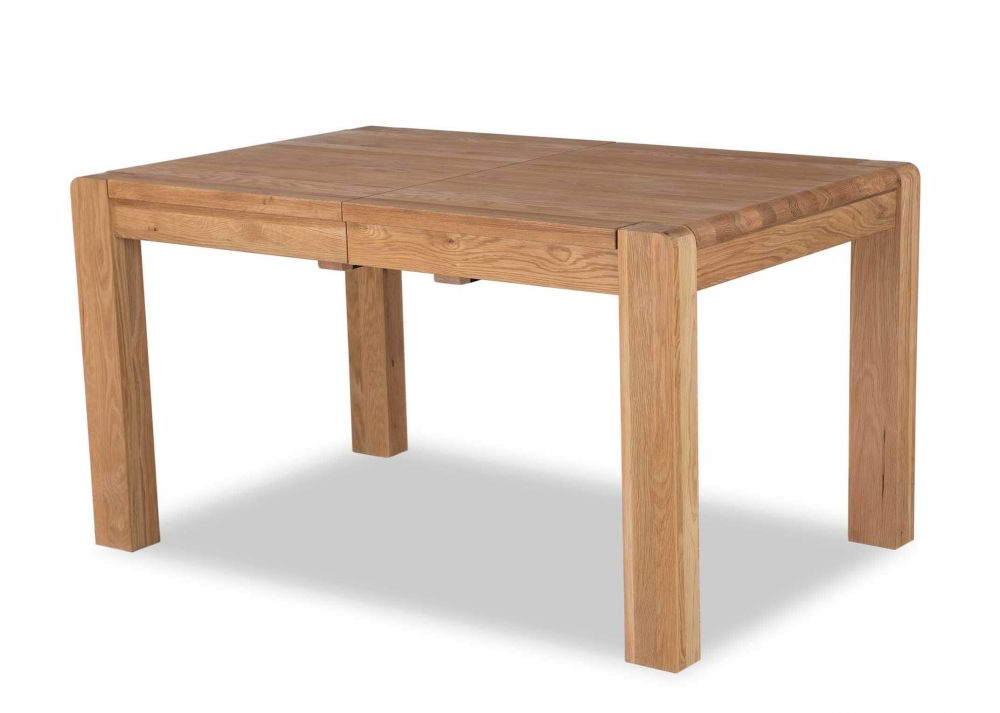 Oak Extendable Dining Table – Milton – Ez Living Furniture Pertaining To Well Liked Milton Dining Tables (Gallery 9 of 20)