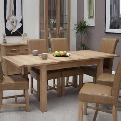 Oak Extendable Dining Tables And Chairs With Regard To 2017 Opal Oak Extending Dining Table – Robson Furniture (Gallery 10 of 20)