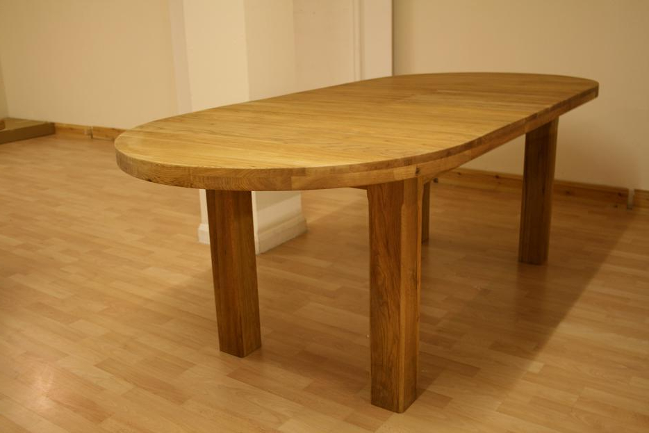 Oak Extending Dining Sets In Well Known Oslo Solid Oak Dining Furniture (View 9 of 20)