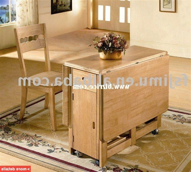 Oak Folding Table And Chairs (Gallery 14 of 20)