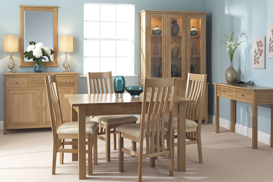 Oak Furniture Dining Sets Pertaining To Famous Dining Furniture In Cornwall (View 11 of 20)