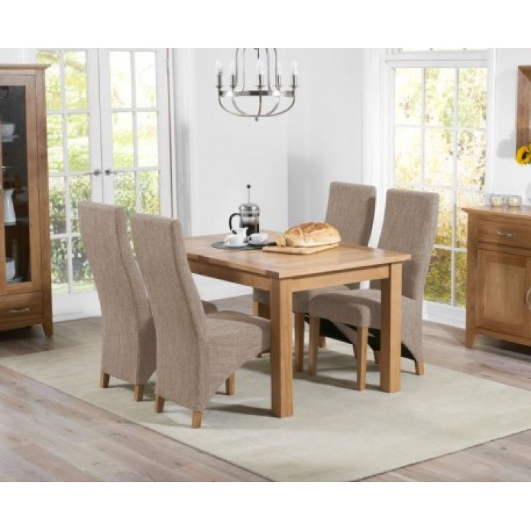 Oak Furniture House Regarding Dining Tables And Fabric Chairs (View 11 of 20)