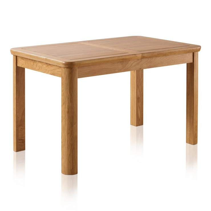 Oak Furniture Land In Extending Solid Oak Dining Tables (View 11 of 20)