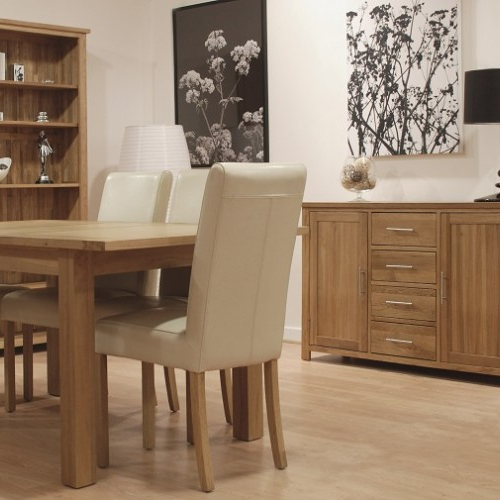 Oak Furniture Uk Within Oak Dining Suites (Gallery 11 of 20)