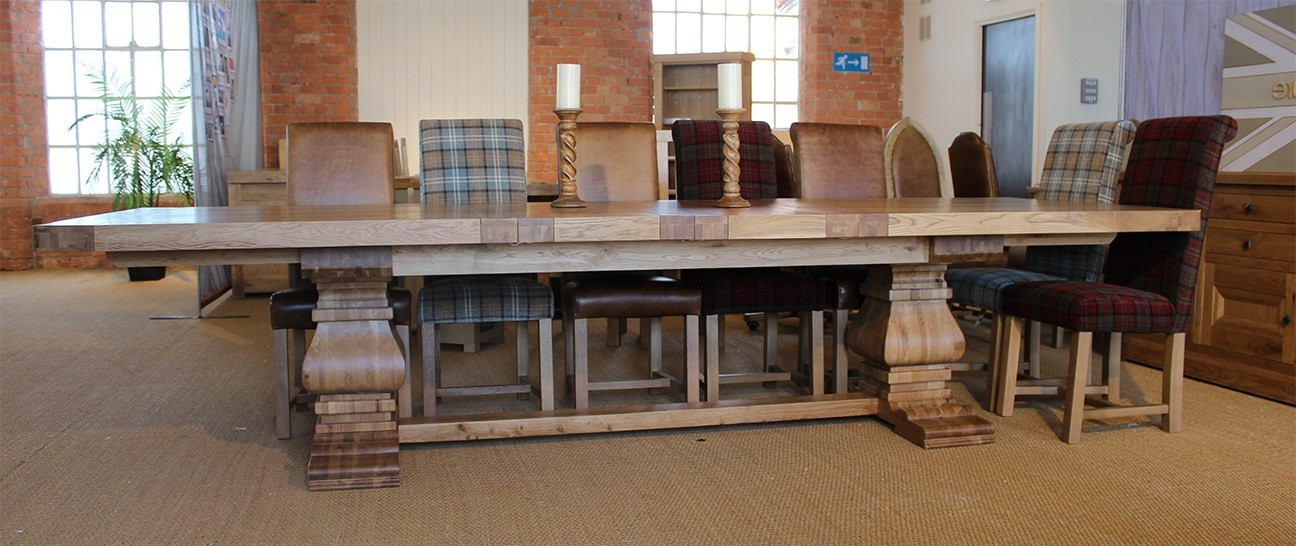 Oak Regarding Best And Newest Rustic Oak Dining Tables (View 9 of 20)