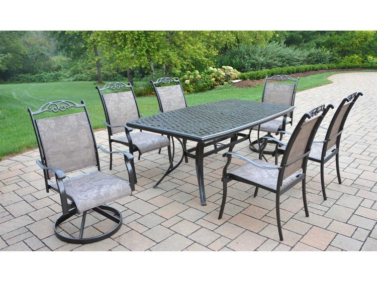 Ol2136T106052S4C7Cf With Most Recently Released Valencia 72 Inch 7 Piece Dining Sets (Gallery 20 of 20)