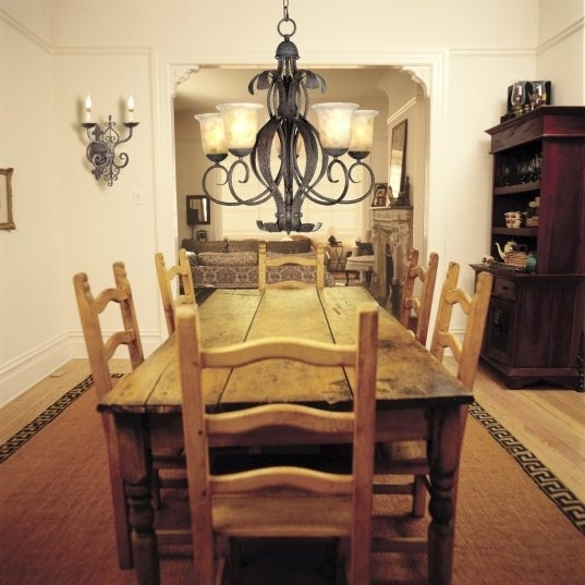 Old Farmhouse Dining Room Lighting Square Natural Mahogany Wooden Throughout Current Natural Brown Teak Wood Leather Dining Chairs (View 12 of 20)