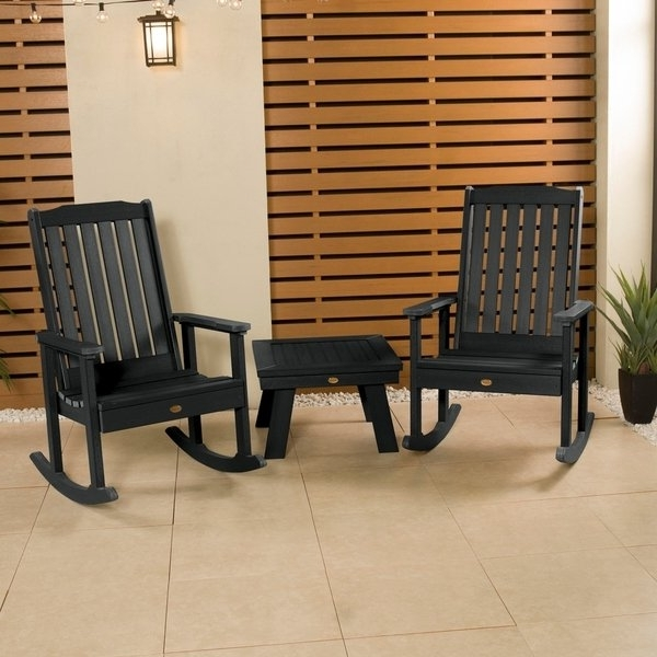 Oliver Side Chairs With Preferred Oliver & James Jacques Rocking Chairs And Side Table (3 Piece Set (View 12 of 20)