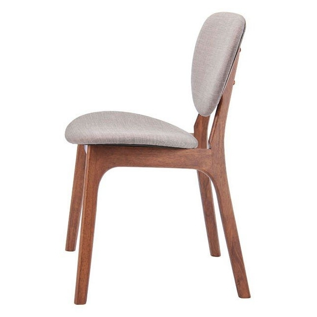 Omni Dining Chair (Dove Gray) (Set Of 2) Zuo Modern (Gallery 7 of 20)