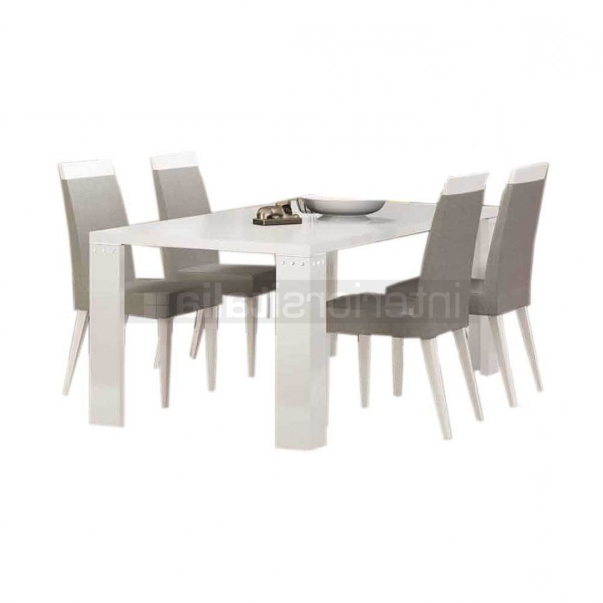 On Sale Inside White Gloss Dining Sets (View 4 of 20)