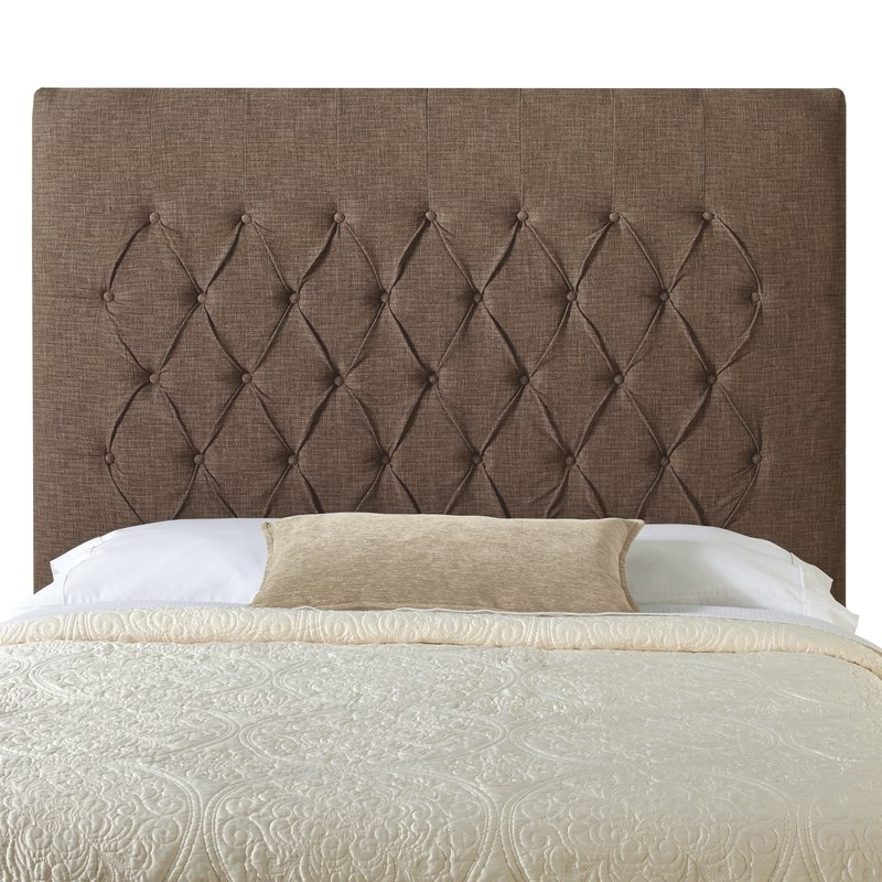 One Allium Way Laurent Upholstered Panel Headboard & Reviews (View 14 of 20)