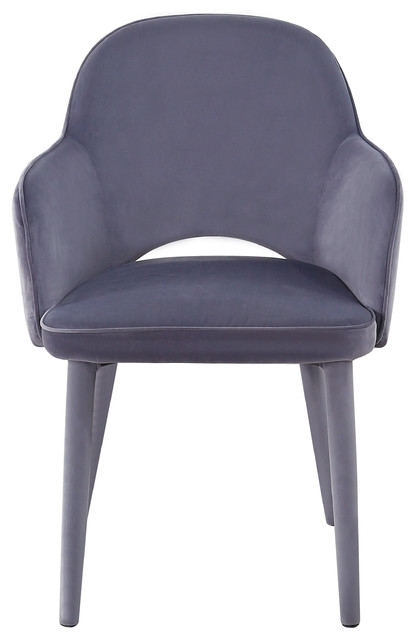 Orion Velvet Chair – Midcentury – Dining Chairs  Tov Furniture Pertaining To Popular Orion Side Chairs (View 14 of 20)