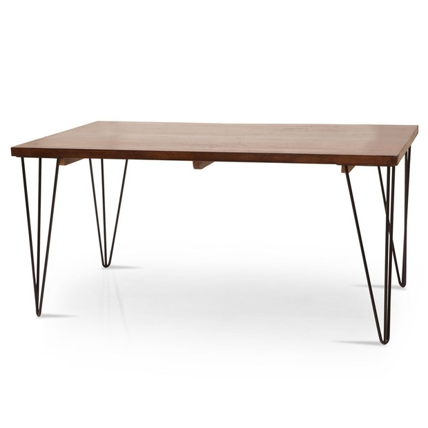 Oslo Barcelona 6 Seater Dining Table Set – Lock And Pull Intended For Widely Used Barcelona Dining Tables (View 6 of 20)