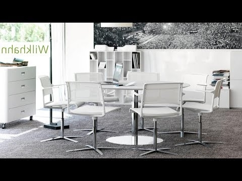 Osteria Emerald Side Chairs With Newest Ergonomic Task Chairs And Dynamic Conference Tables – Wilkhahn (View 14 of 20)
