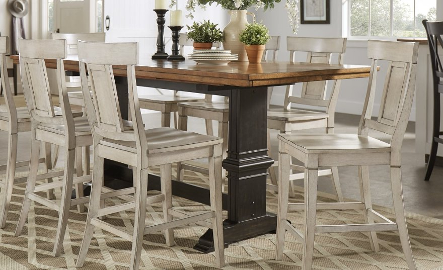 Our Best Dining Inside Favorite Wyatt 6 Piece Dining Sets With Celler Teal Chairs (Gallery 1 of 20)