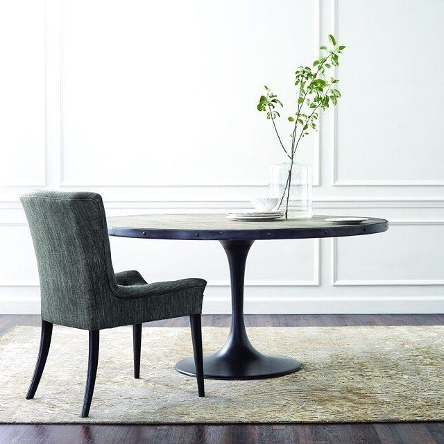 Our Popular Kenton #dining Table Is A Fresh Twist On The Classic Pertaining To Current Chandler 7 Piece Extension Dining Sets With Wood Side Chairs (Gallery 10 of 20)